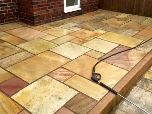 Driveway/patio cleaning in Wirral